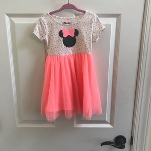 Minnie Mouse Tulle Dress 3T
